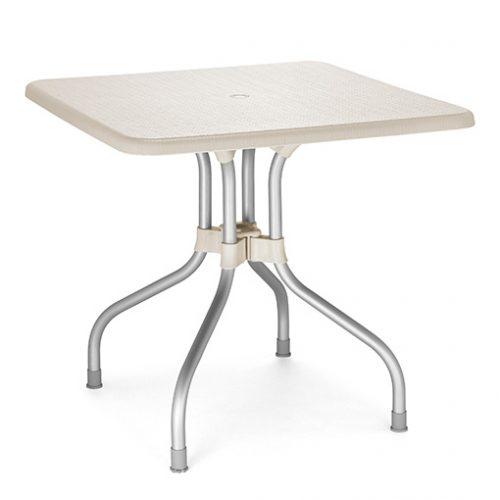 Mesa de jardín plegable Olimpo