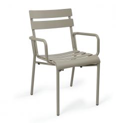 sillon-versalles-lamas-aluminio-pintado-taupé